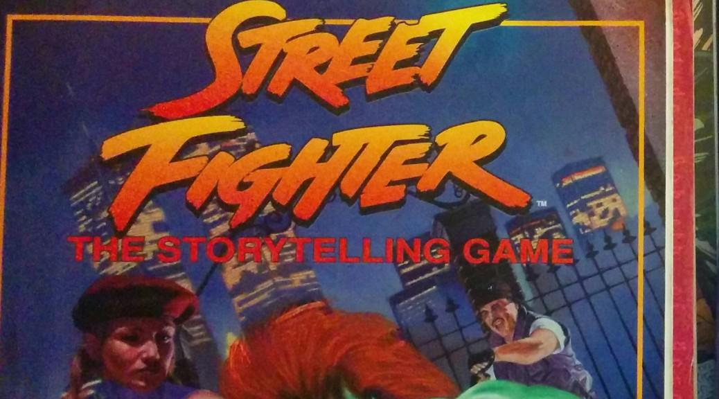 couverture du jeu Streetfighter de White Wolf