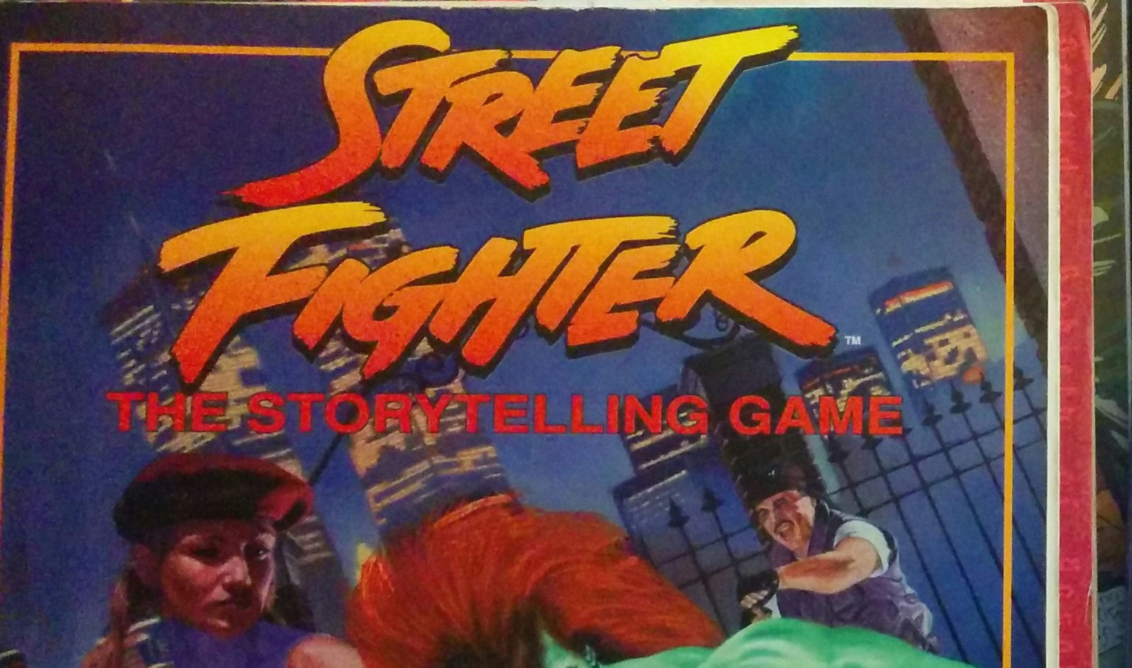 couverture du jeu Streetfighter de White Wolf