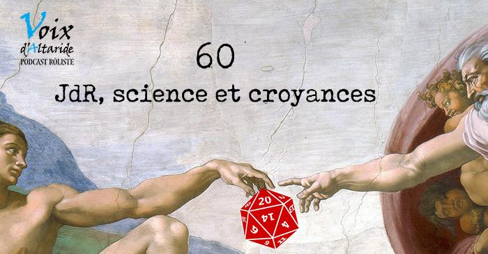 Jdr, sciences et croyances