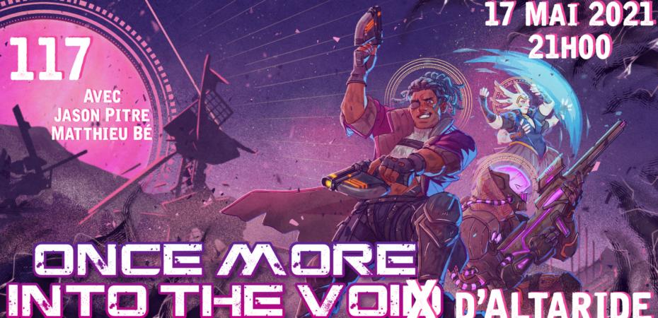 la couverture du jeu Once more into the Void