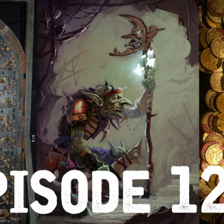 une porte ouvragée, un gobelin, un tas de pièces : episode 122 PMT