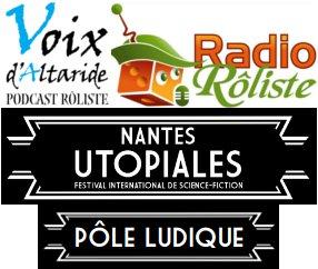 Radio Rôliste et les Voix d'Altaride présentent les interview du pôle ludique des utopiales avec Romaric Briand
