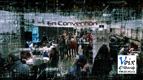 En convention !